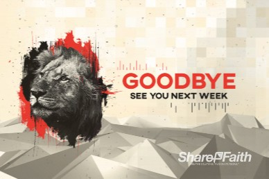 God Is Our Refuge And Strength Goodbye Motion Graphic