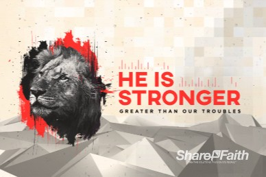 God Is Our Refuge And Strength Church Motion Graphic