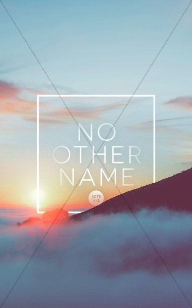 No Other Name Church Bulletin
