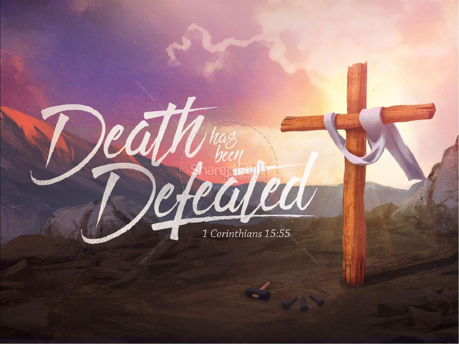 Death Has Been Defeated Easter PowerPoint