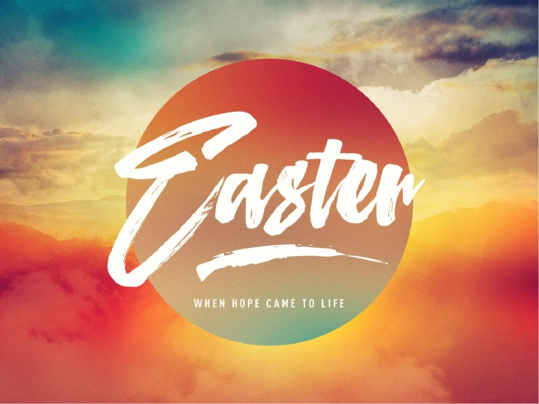 Easter Sunrise PowerPoint Template