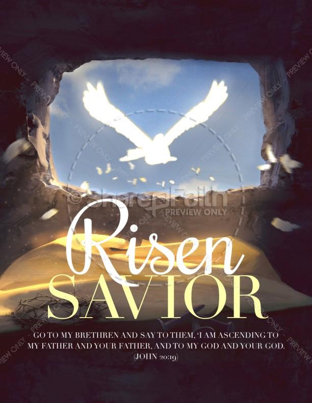 Risen Savior Easter Flyer