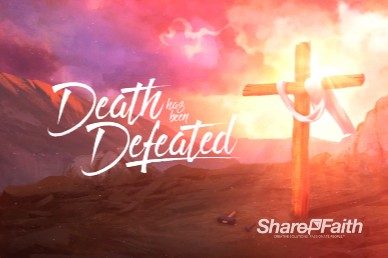 Death Has Been Defeated Easter Motion Graphic
