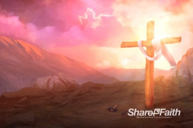 Death Has Been Defeated Worship Motion Background