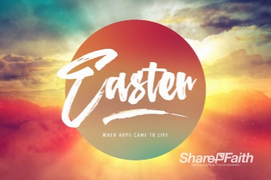 Easter Sunrise Church Motion Graphic