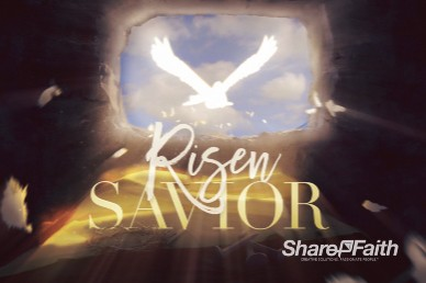 Risen Savior Easter Motion Graphic