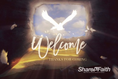 Risen Savior Welcome Motion Graphic