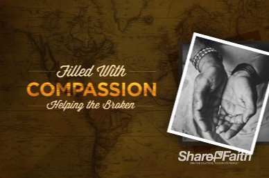 Filled With Compassion Church Motion Graphic