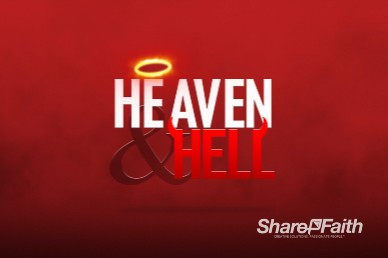 Heaven and Hell Church Motion Graphic