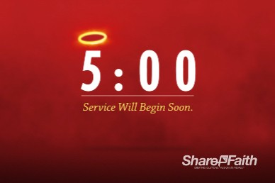 Heaven and Hell Church Countdown Timer