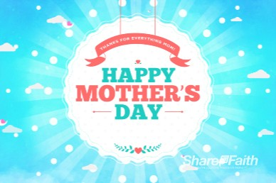 Happy Mother's Day Spring Motion Graphic