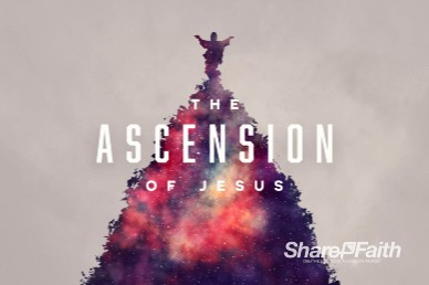 Ascension Day Church Motion Graphic