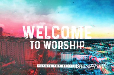 Love Your City Welcome Motion Graphic