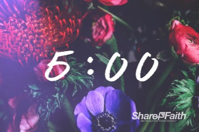 Mother's Day Flower Church Countdown Video
