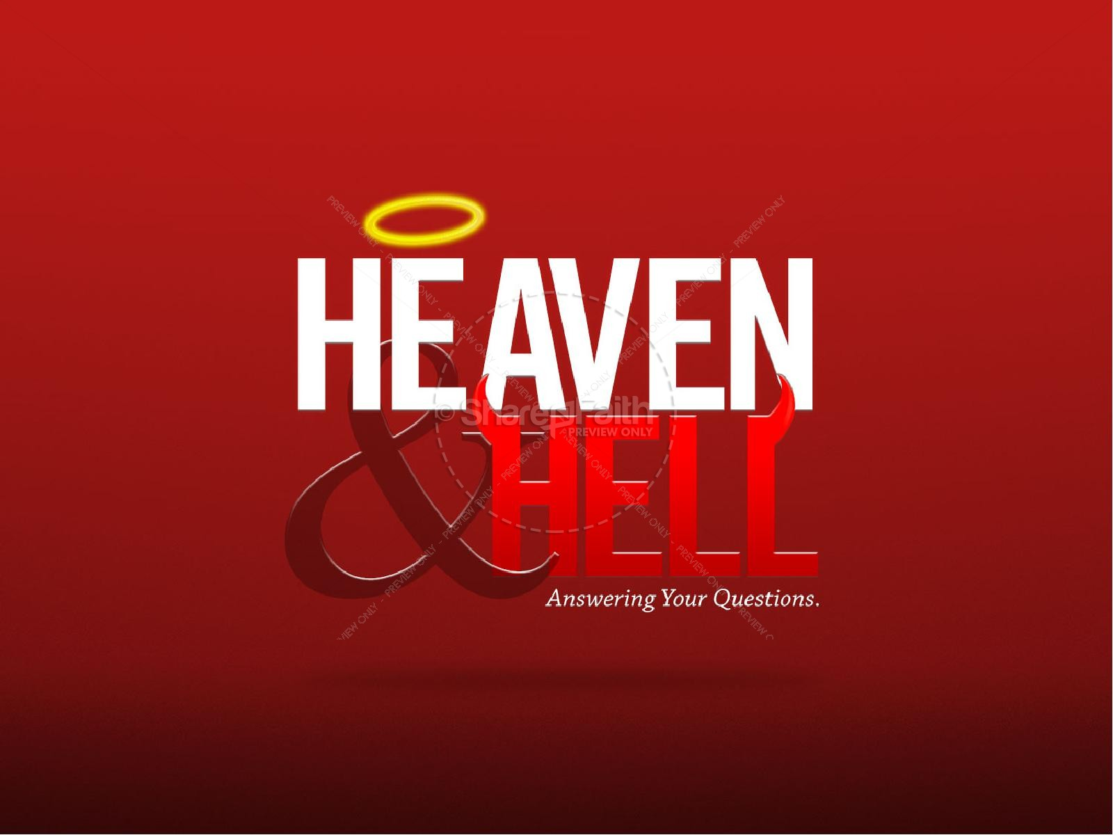 Heaven and Hell Sermon PowerPoint | PowerPoint Sermons
