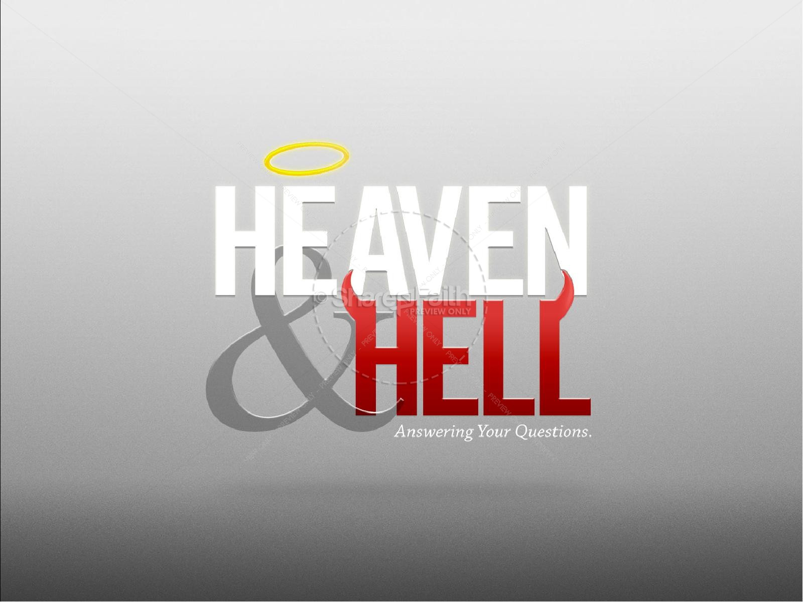 Heaven and Hell Sermon PowerPoint | slide 2