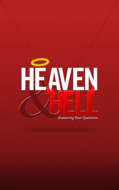 Heaven and Hell Church Bulletin