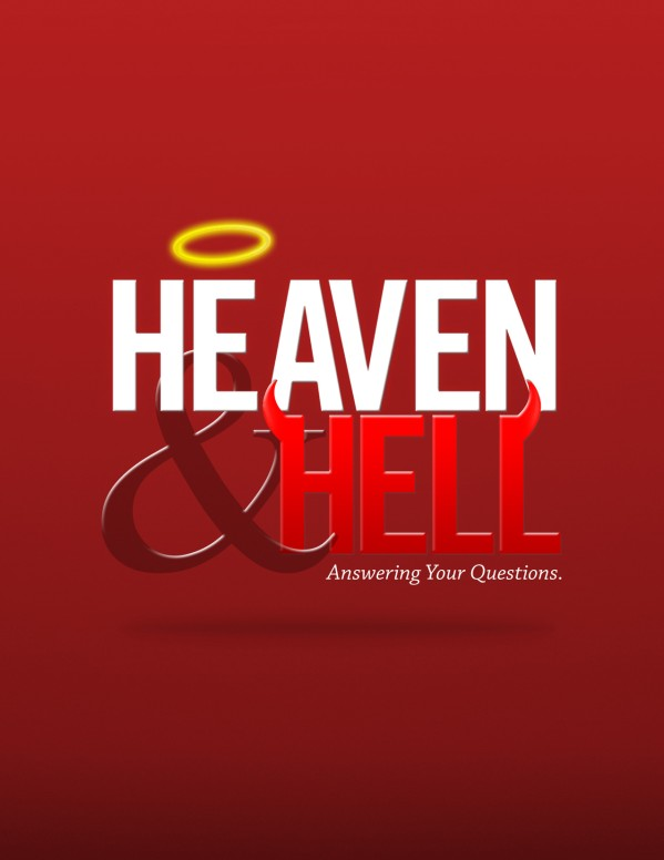 Heaven and Hell Church Flyer