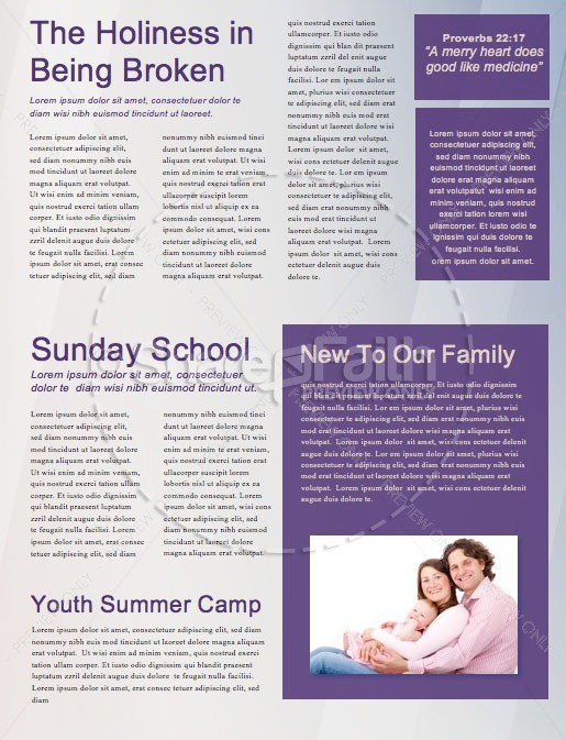 Heal Our Land Church Newsletter