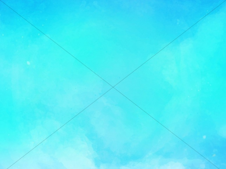 Blue Skies Spring Church Worship Background