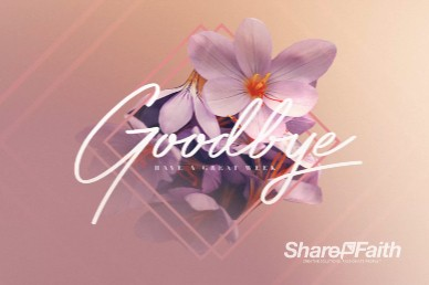 Happy Mother's Day Goodbye Motion Graphic