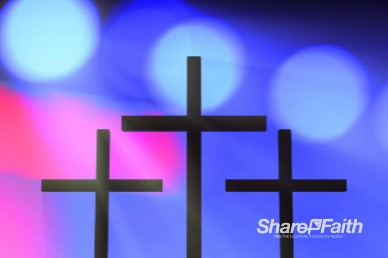 Stage Lights Christian Easter Worship Background Loop