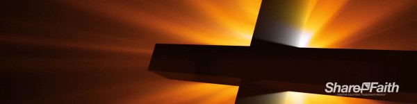 Radiant Cross Easter Triple Wide Motion Background