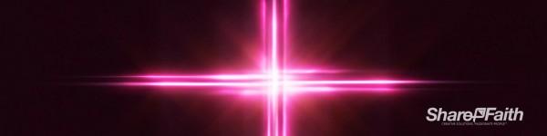 Light Wave Cross Triple Wide Motion Background