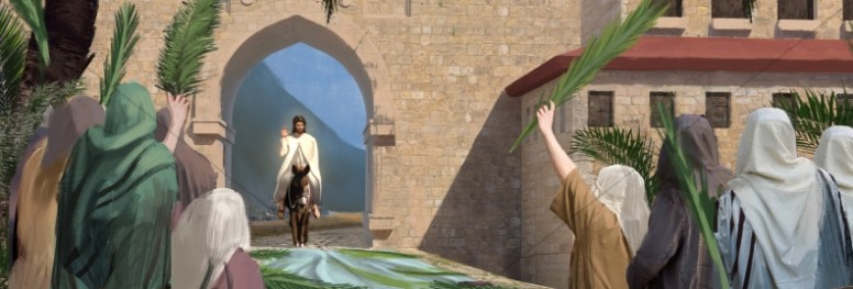 Palm Sunday Hosanna In The Highest Website Graphic