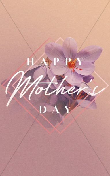 Happy Mother's Day Sermon Bulletin