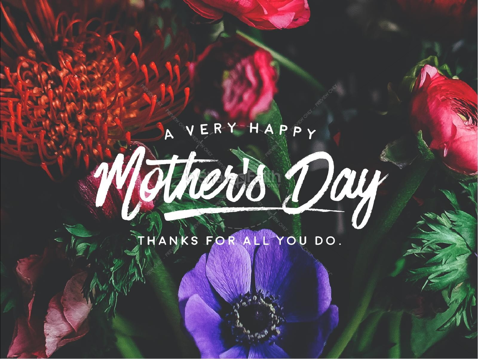 Mother's Day Flower Sermon PowerPoint