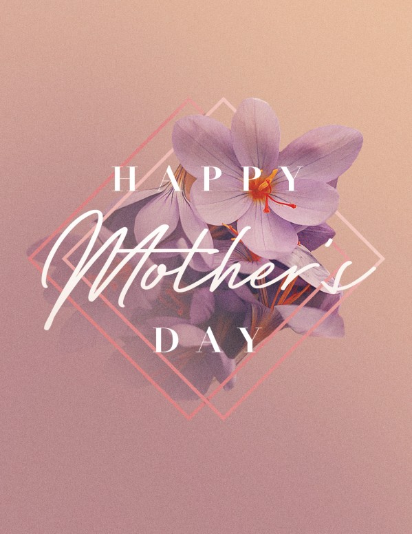 Happy Mother's Day Church Flyer Template