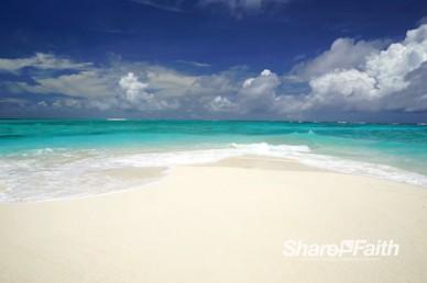 White Sand Beach Worship Video Loop