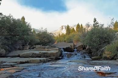 Sunset Creek Worship Video Background