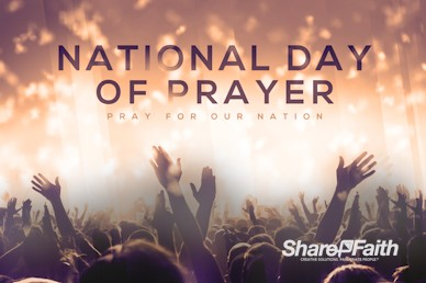 National Day of Prayer Church Motion Graphic