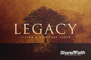Leaving A Godly Legacy Church Motion Graphic