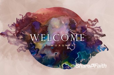 Holy Spirit Pentecost Welcome Motion Graphic