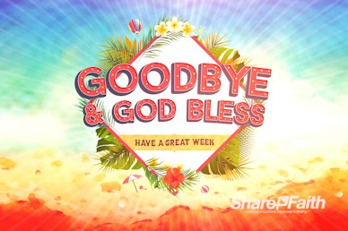 Summer Events Goodbye Motion Graphic