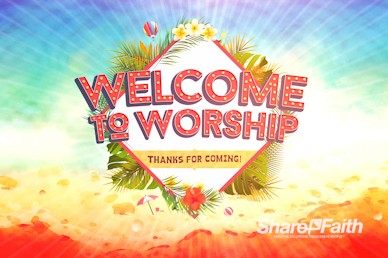 Summer Events Welcome Motion Graphic