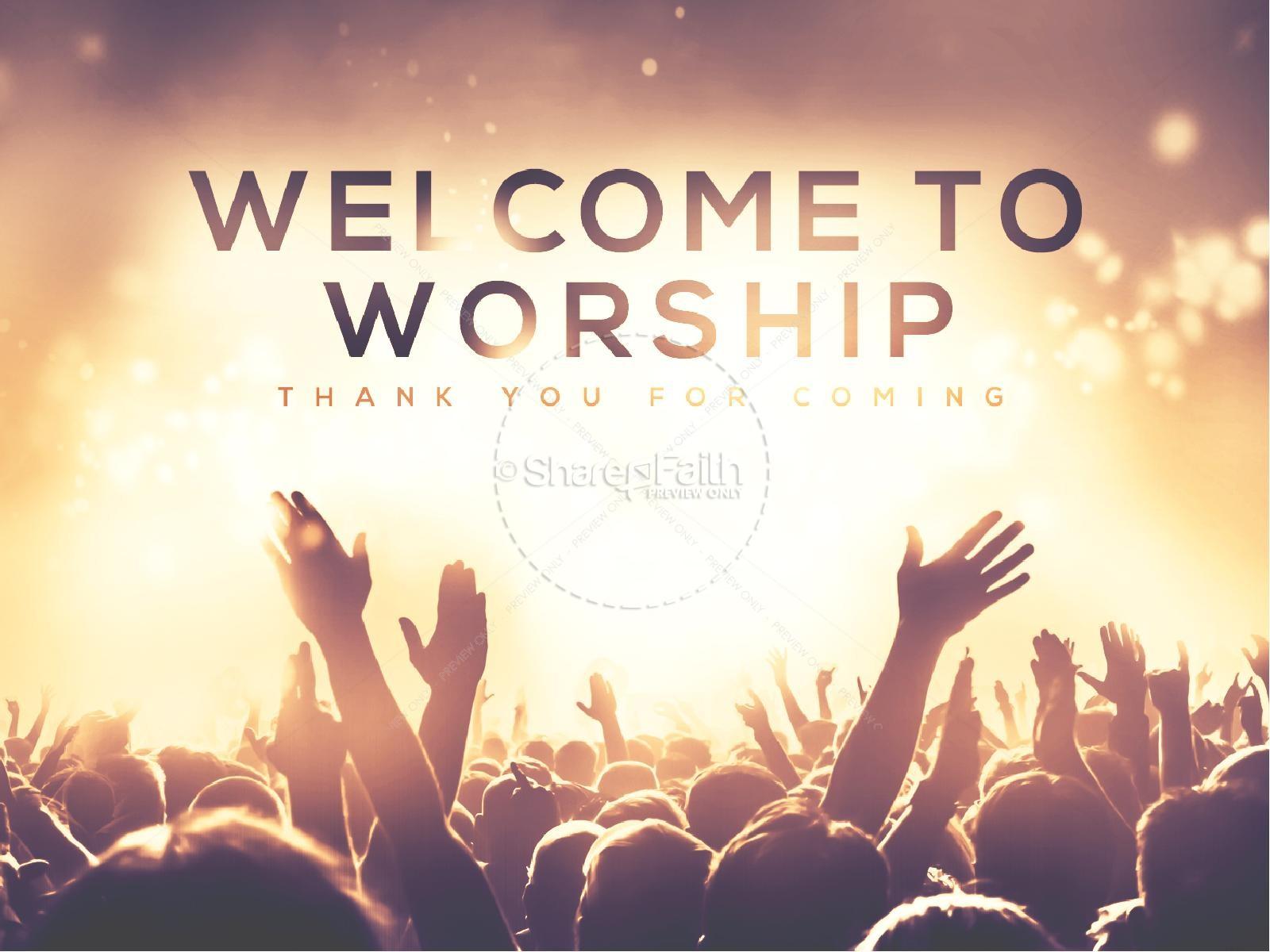 National Day of Prayer Worship Church PowerPoint   slide 2