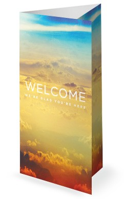 The Best Is Yet To Come Church Trifold Bulletin