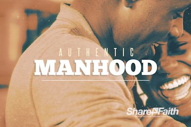 Authentic Manhood Church Motion Graphic
