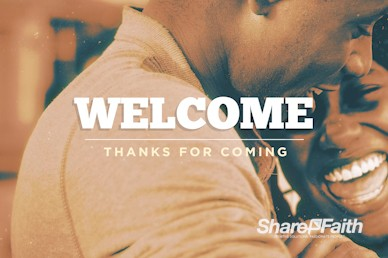 Authentic Manhood Welcome Motion Graphic