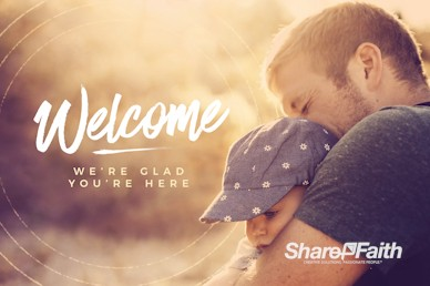 A Father's Love Welcome Motion Graphic