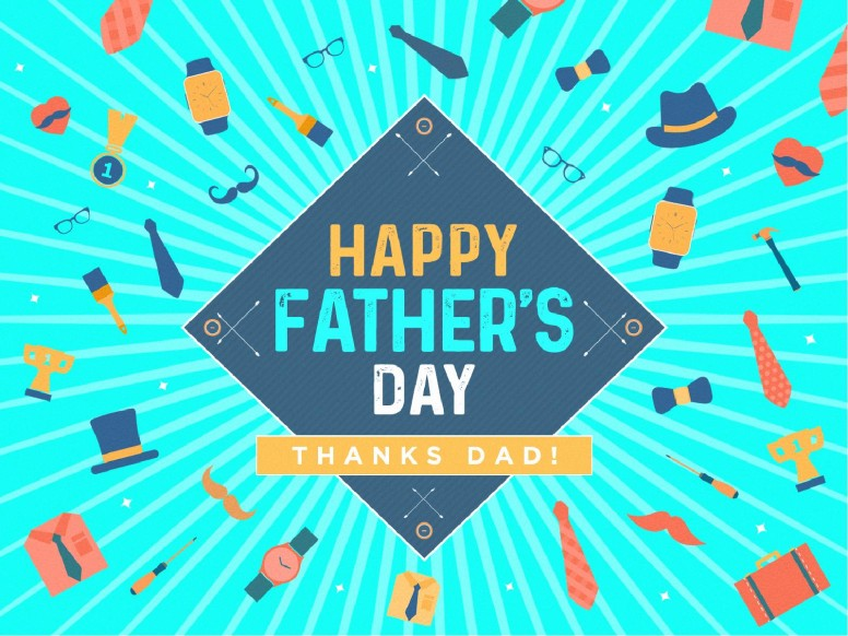 Happy Father's Day Sermon PowerPoint Template