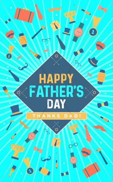 Happy Father's Day Sermon Bulletin