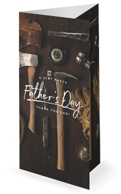 Working Dads Father's Day Church Trifold Bulletin