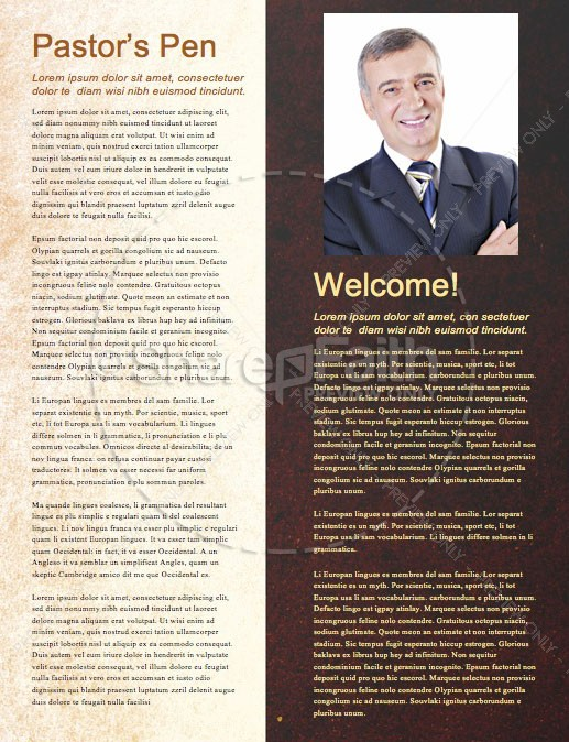 Leaving A Godly Legacy Church Newsletter