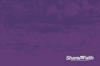 Purple Mountains Majesty Worship Motion Background