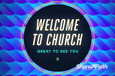 Father's Day Church Welcome Motion Graphic
